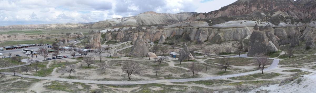 Tyrkiet Kappadokien-zelve-valley